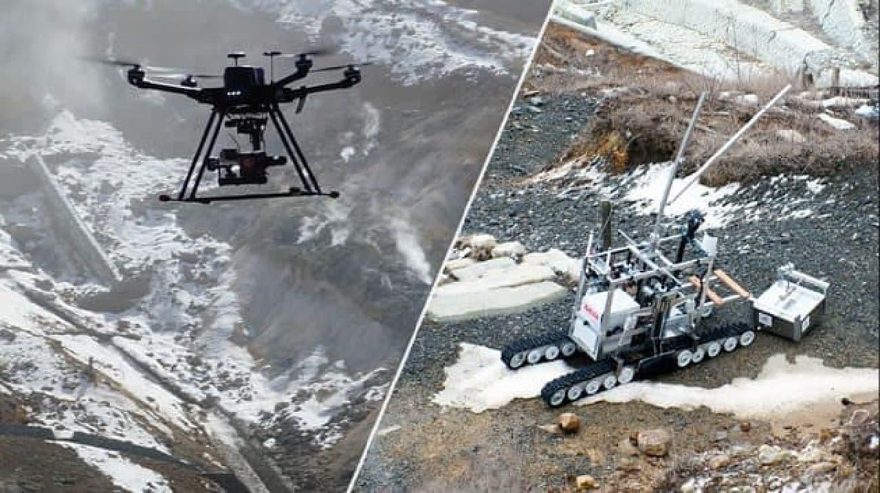 3種類のロボットが活動(出典:神奈川県)