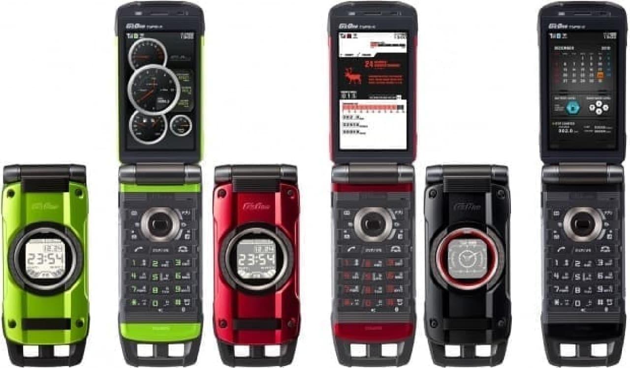 G'zOne TYPE-X、13メガカメラを搭載し、Wi-Fiにも対応していた