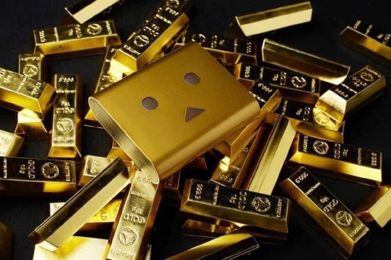 まるで黄金の鉄の塊「ゴールドインゴット」