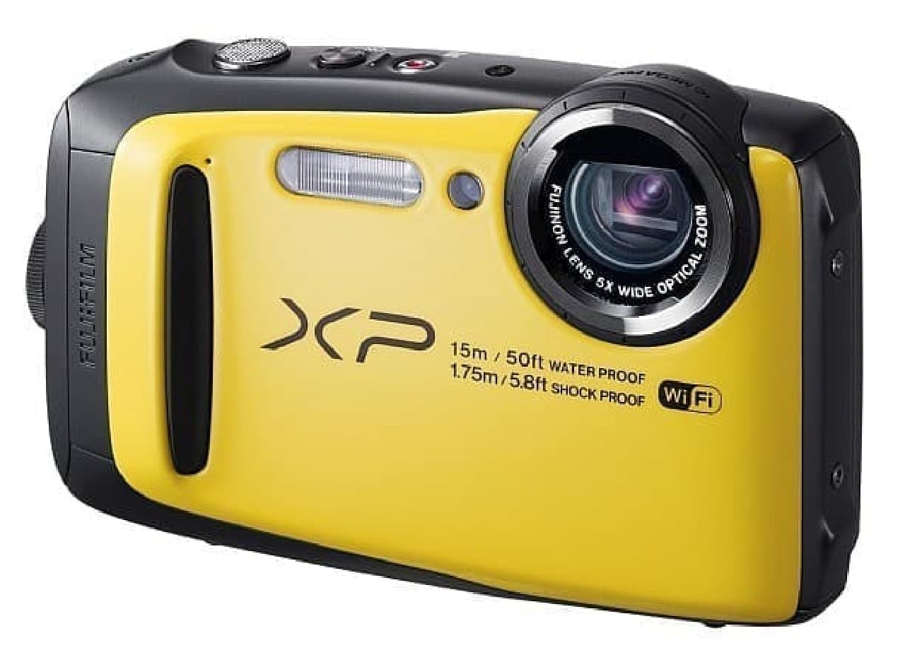 FinePix XP90 イエロー