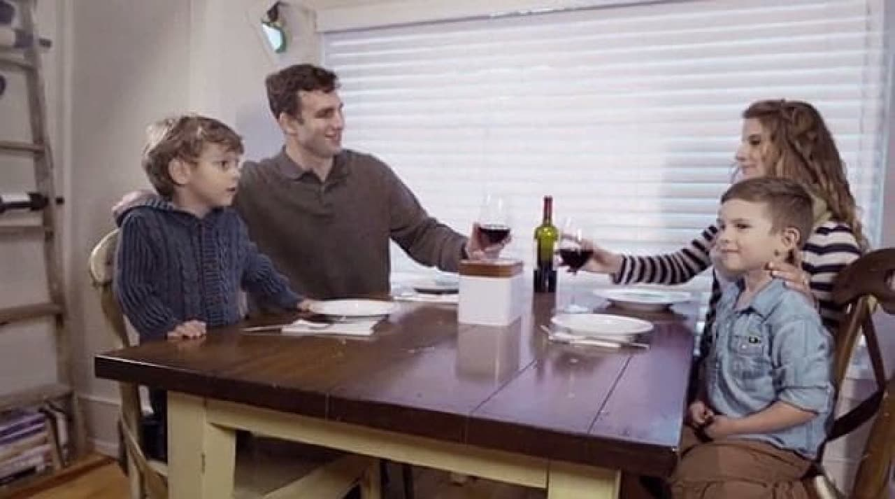 これで家族との会話に集中できますね