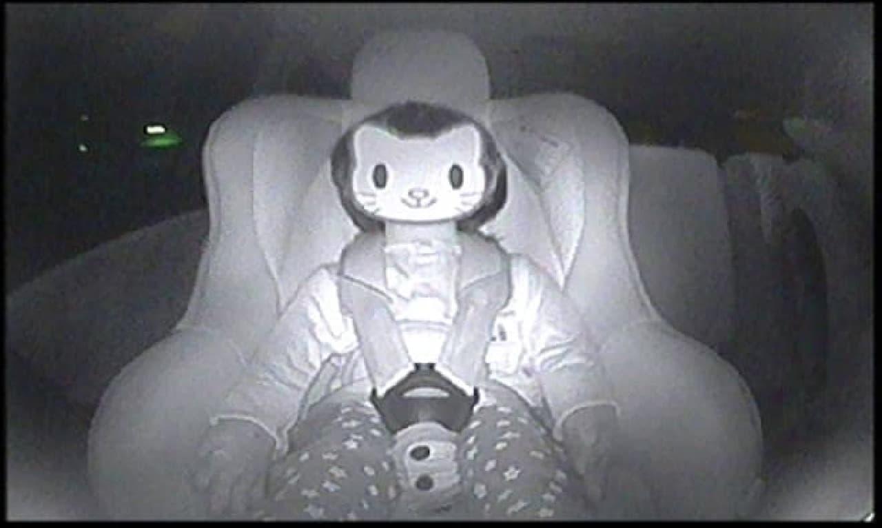 暗視機能。見本写真はちょっと怖い(出典:ポップニート、以下同じ)