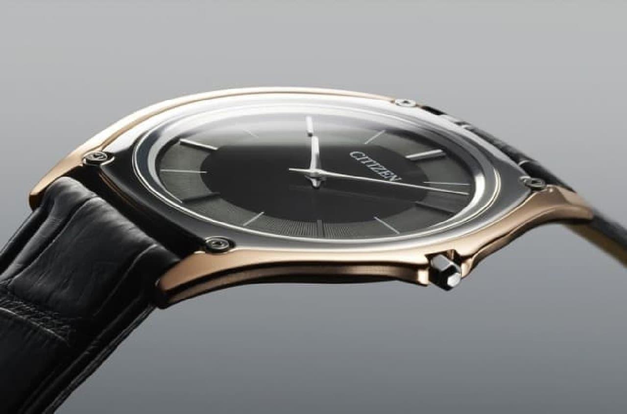 超硬合金などを使った腕時計「Eco-Drive One」