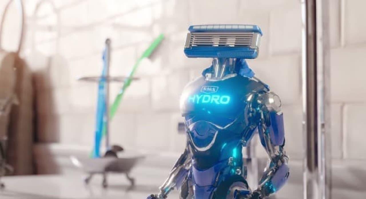 ロボットに