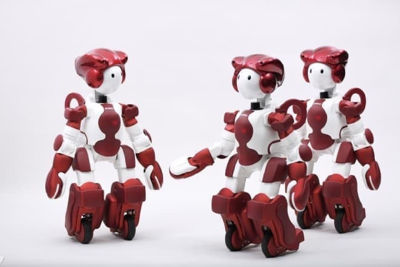 複数のロボットが情報を共有するでし