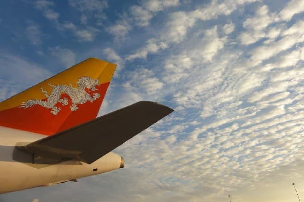タイのバンコクで乗り換えでブータンのパロへ
