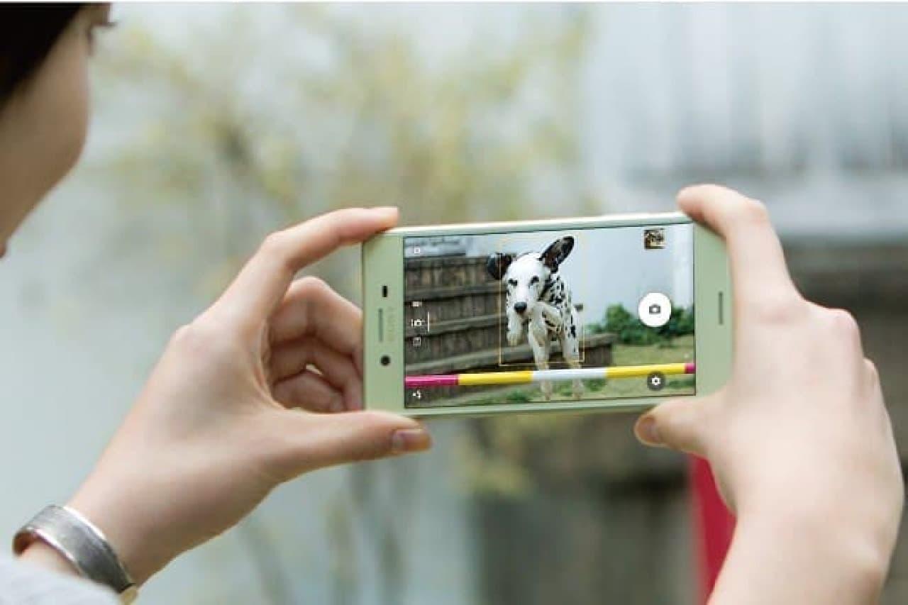 高性能カメラを備えたXperia X Performance