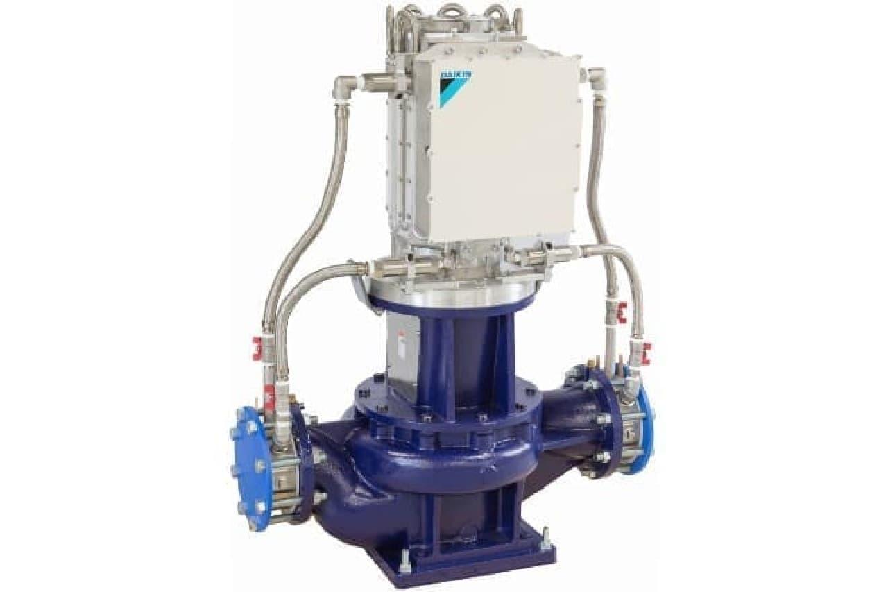 ダイキンのマイクロ水力発電システム
