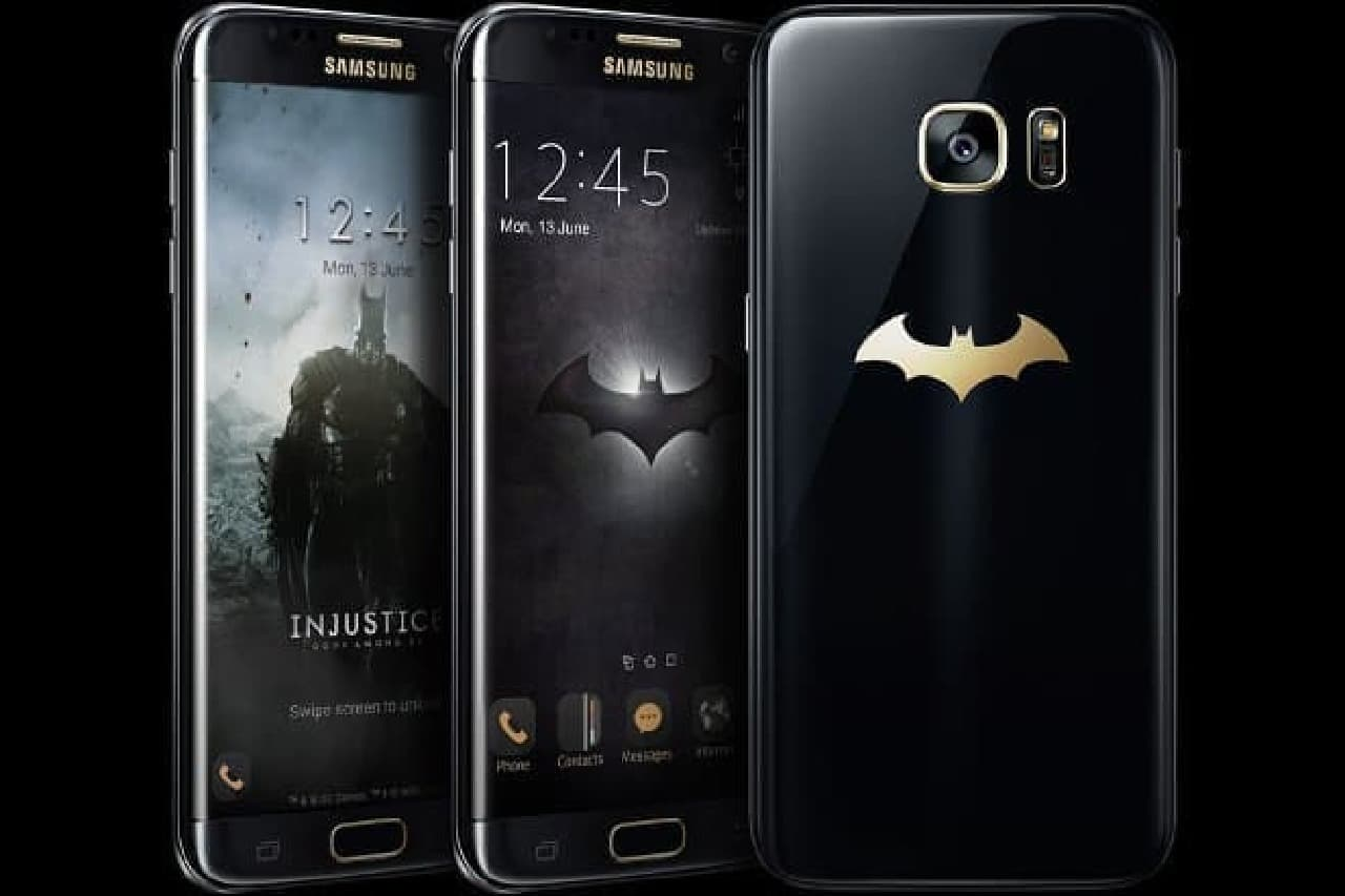 Galaxy S7 edge Injustice Edition、全体図