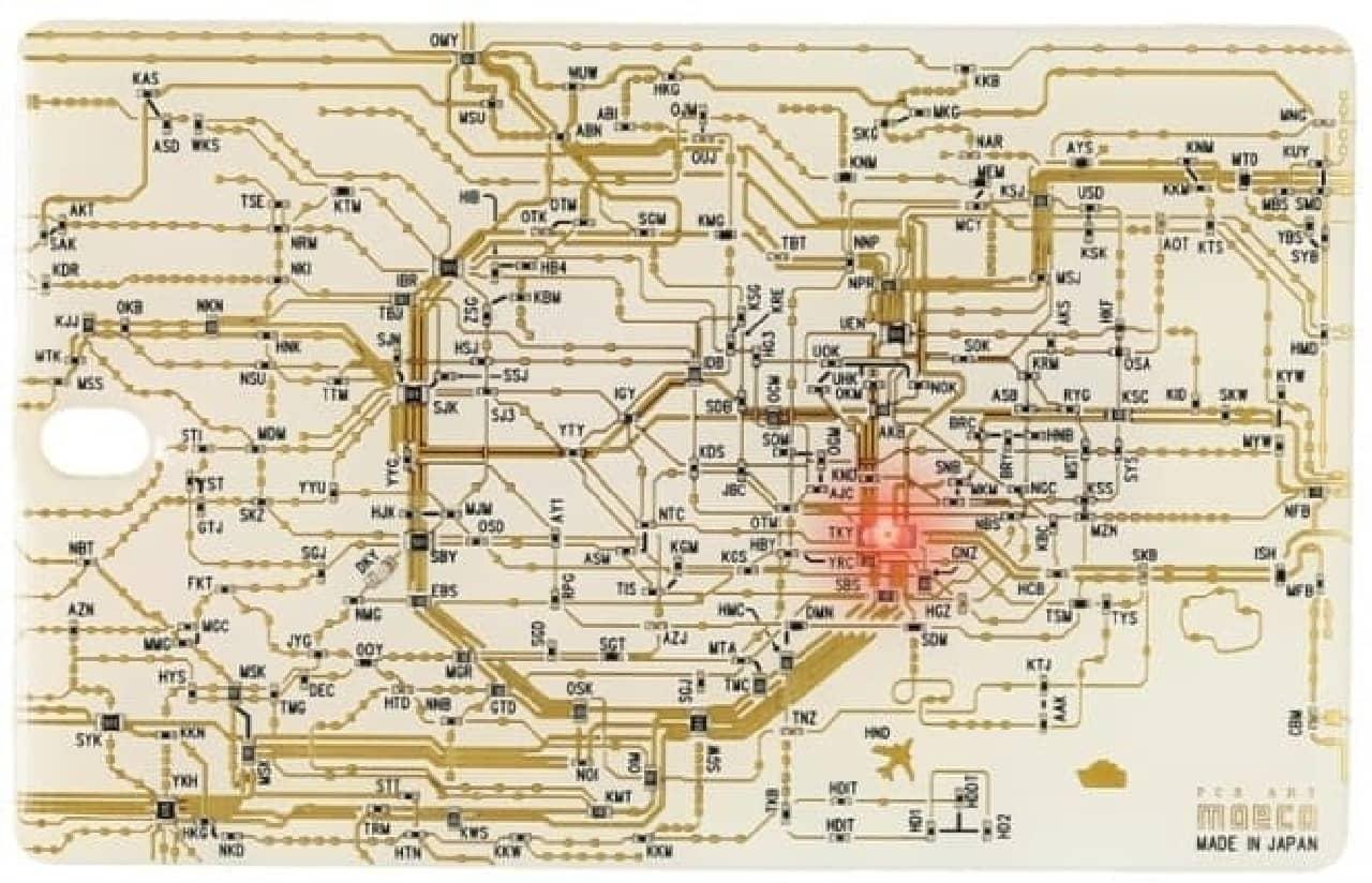 東京回路線図・白