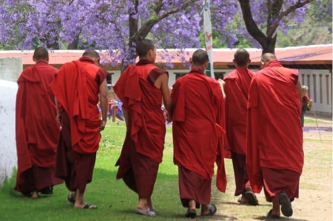 仏教も盛ん