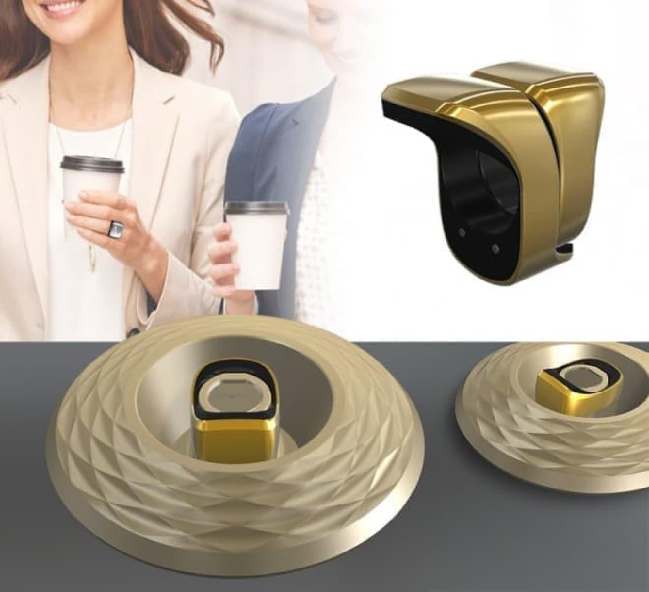 充電用のリング