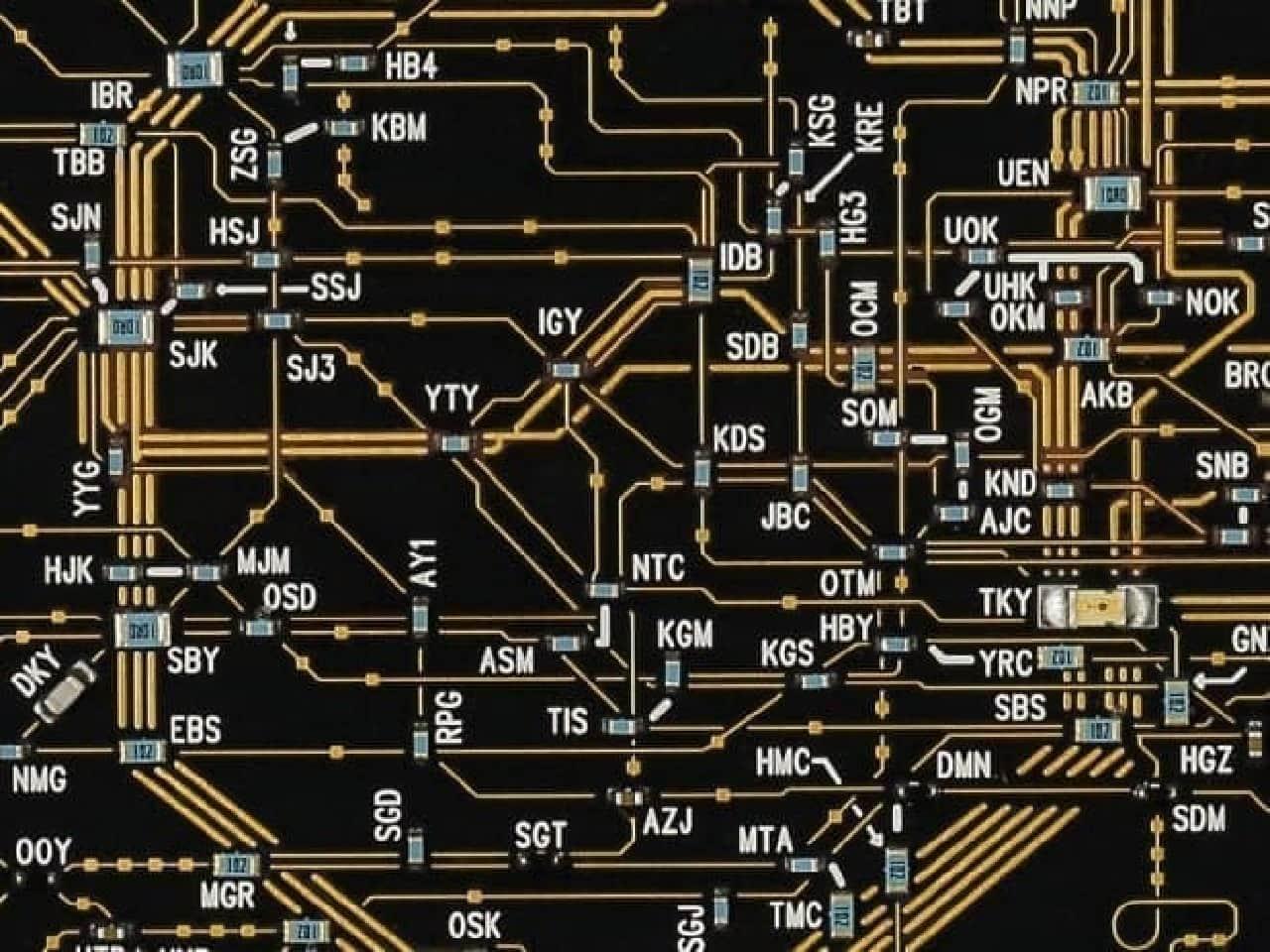 東京回路線図デザイン