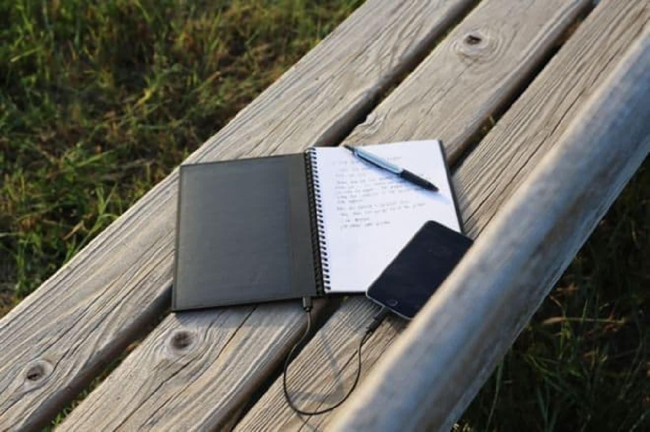 「POWERBOOK」はノートとしても使用できる