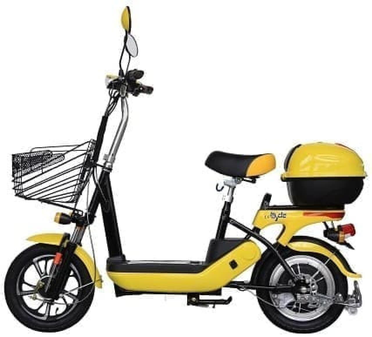 「バイクル」のペダルの無いニューモデル「bycle L6」