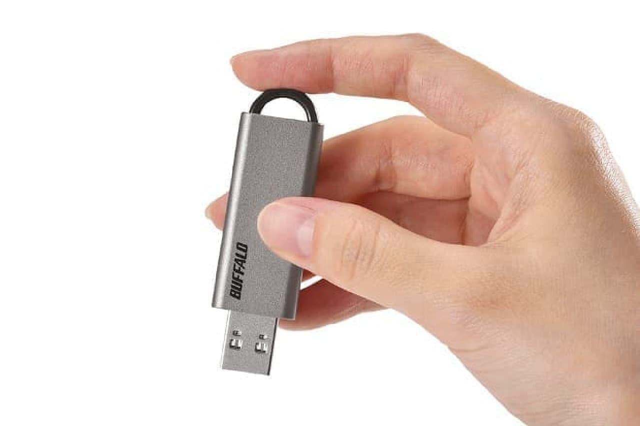 ノック式USB 3.1メモリー