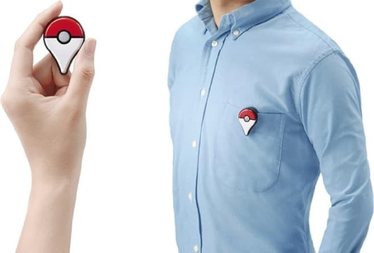 バッヂのような機器「Pokemon GO Plus」