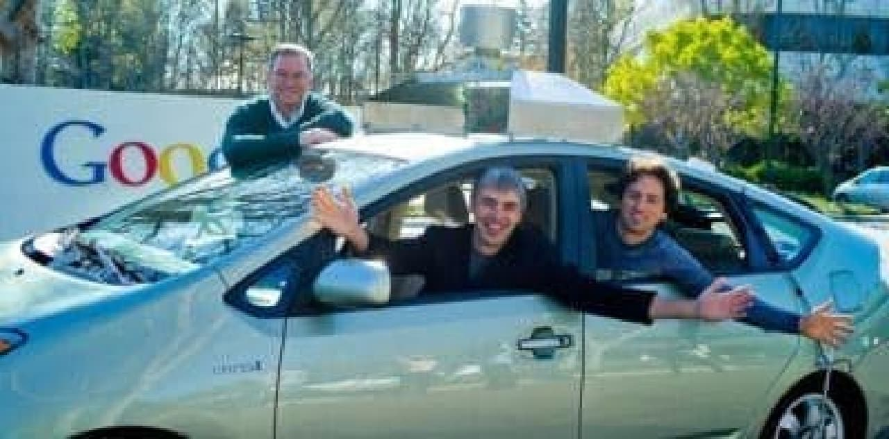 Googleが開発中の自動操縦車