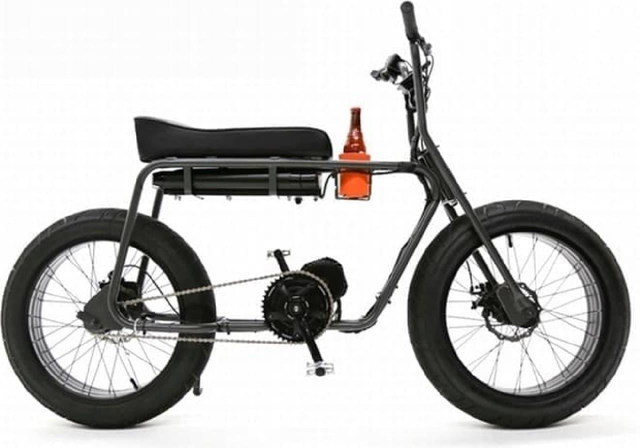 ミニバイクのデザインを再現した電動バイク「The Super 73」