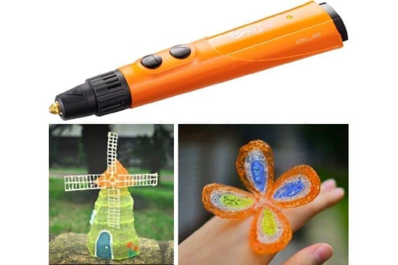 ダヴィンチ3Dペンとその作例