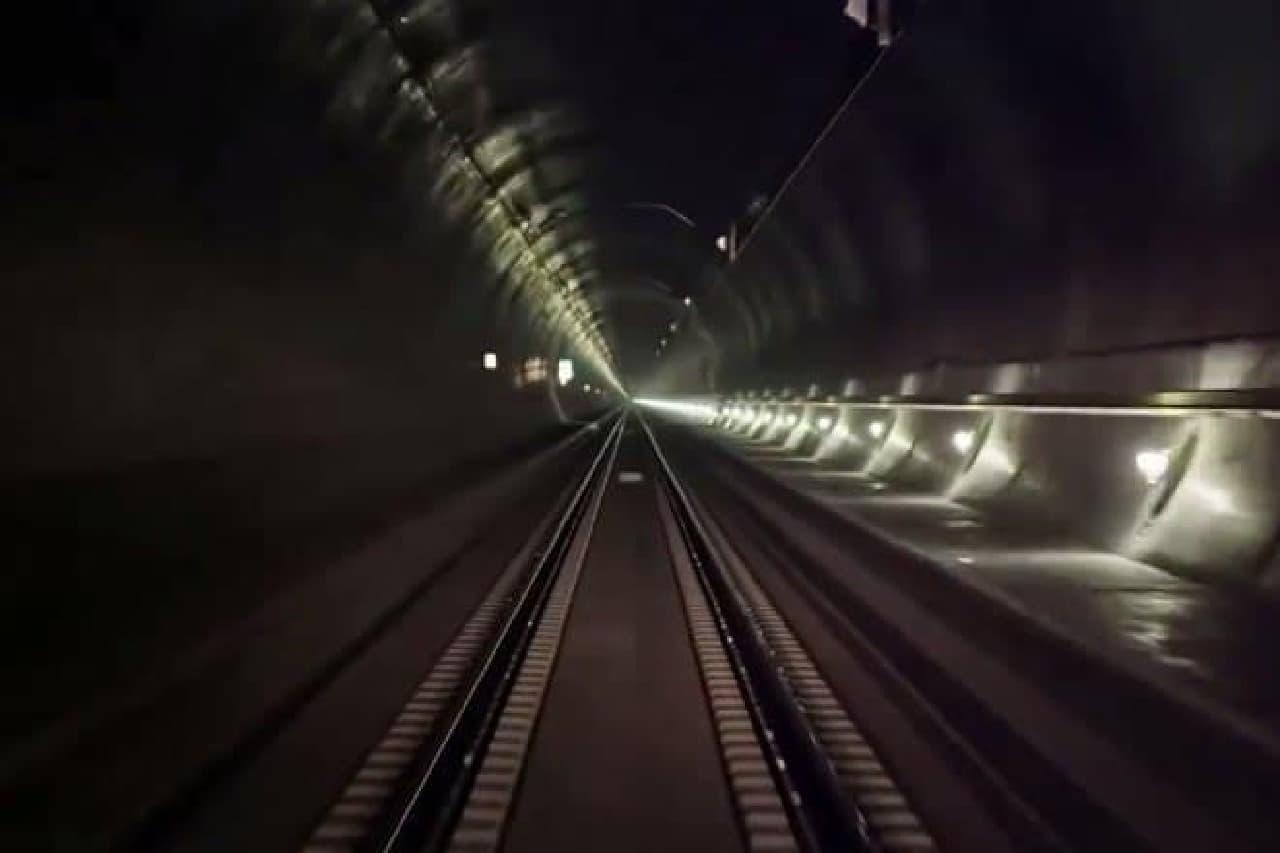 ゴッタルド基底トンネルの入り口
