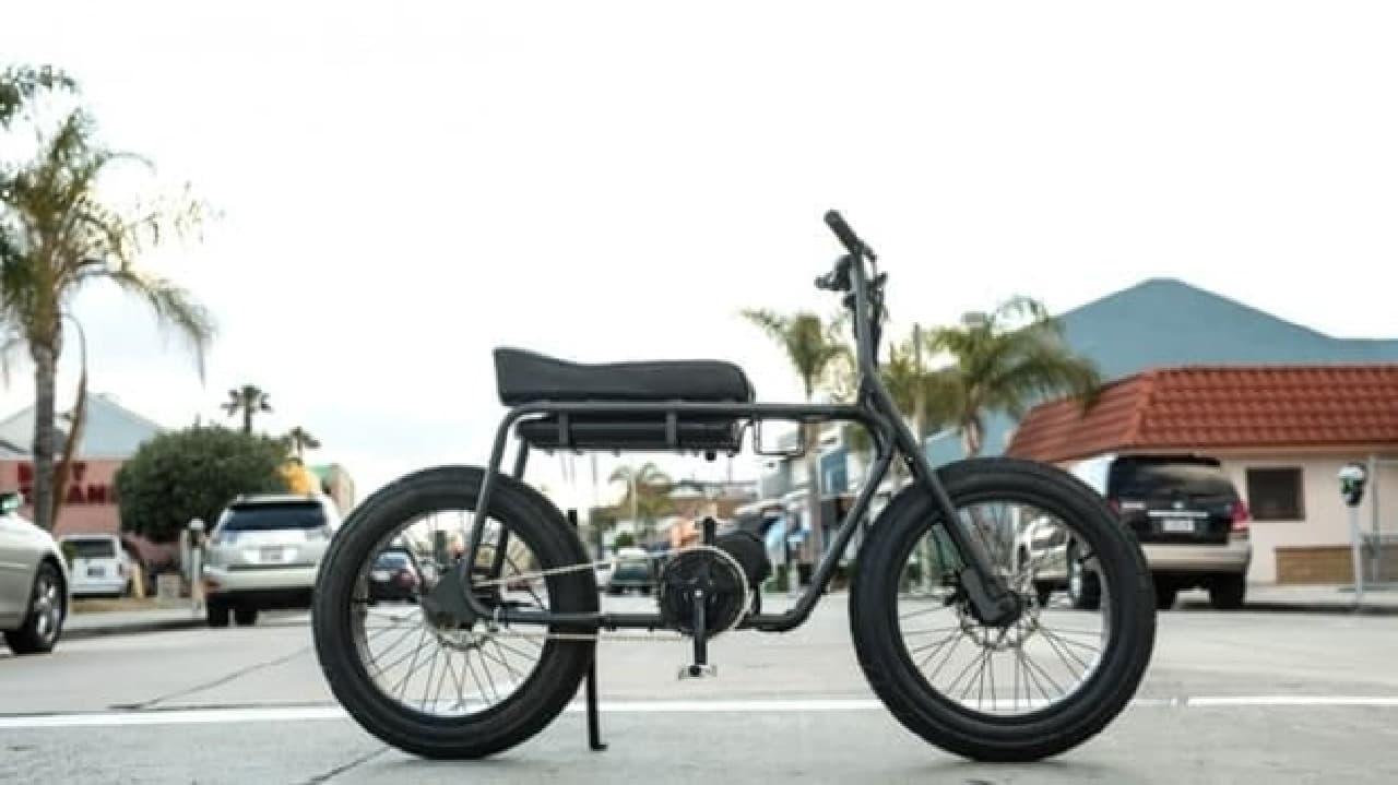 1970年代からやってきた電動バイク「The Super 73」