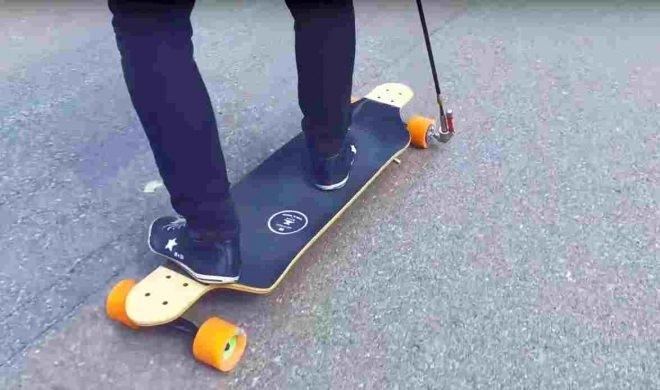電動スケートボードは日本では、公道走行が制限されている