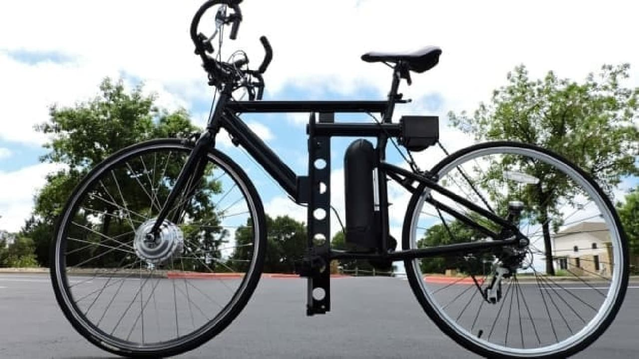 「LFN Bike」は山登りに近いトレーニングを実施できるように設計されたマシン