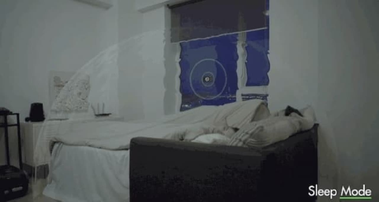 「Muzo」のSleepモード