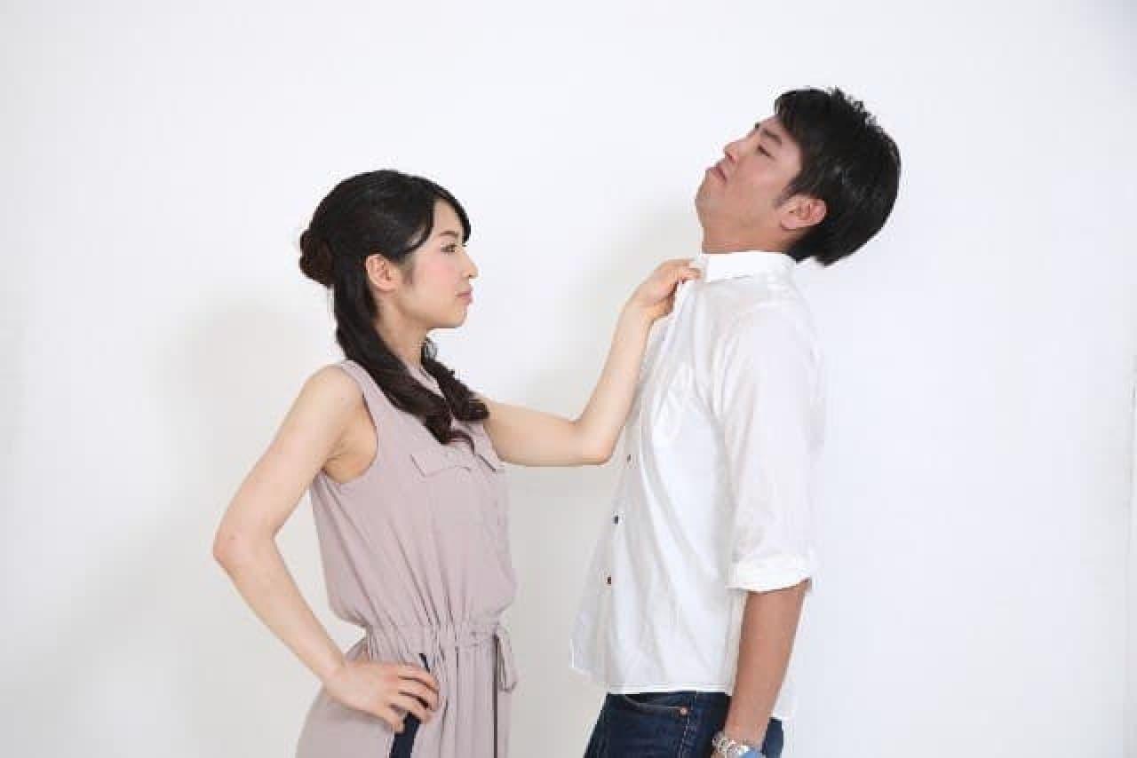 夫婦喧嘩の例