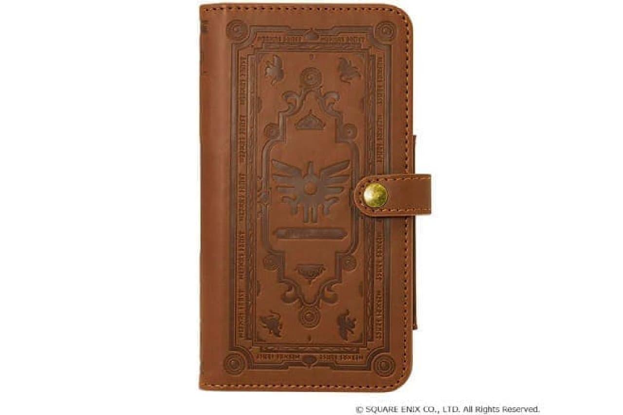 「冒険の書」デザインのスマートフォンケース