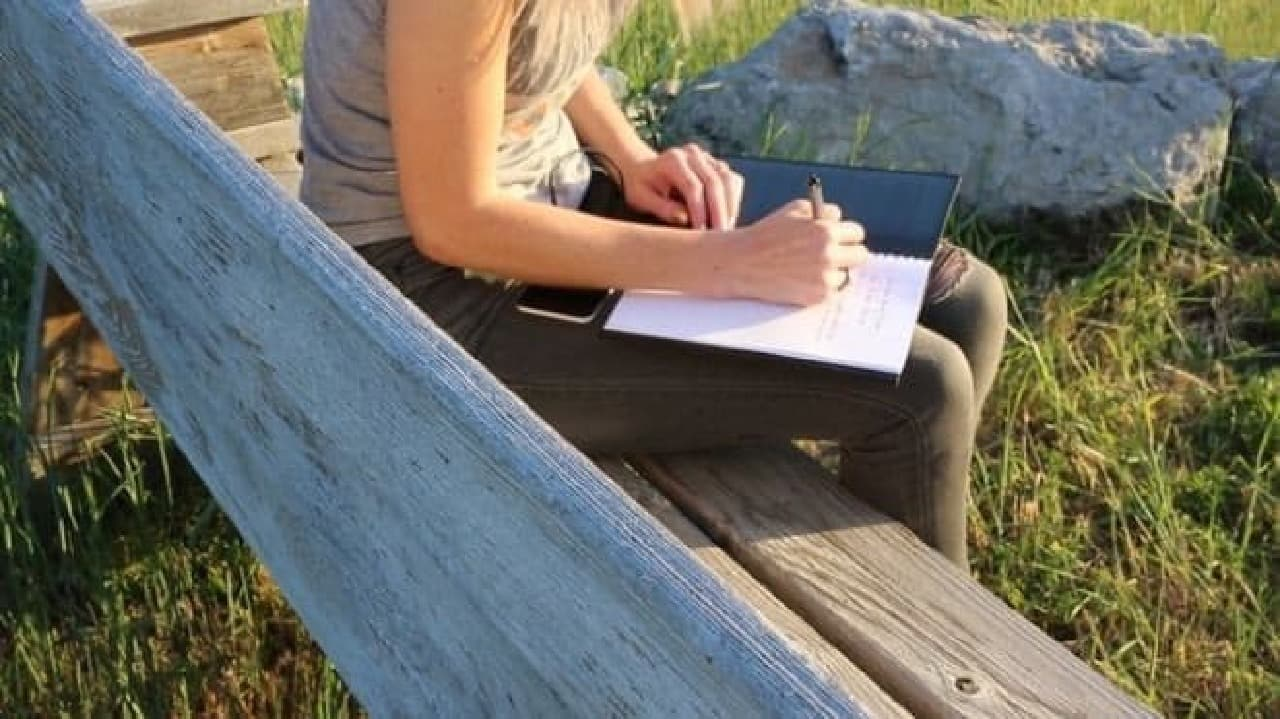 「POWERBOOK」のノートとしての使用例