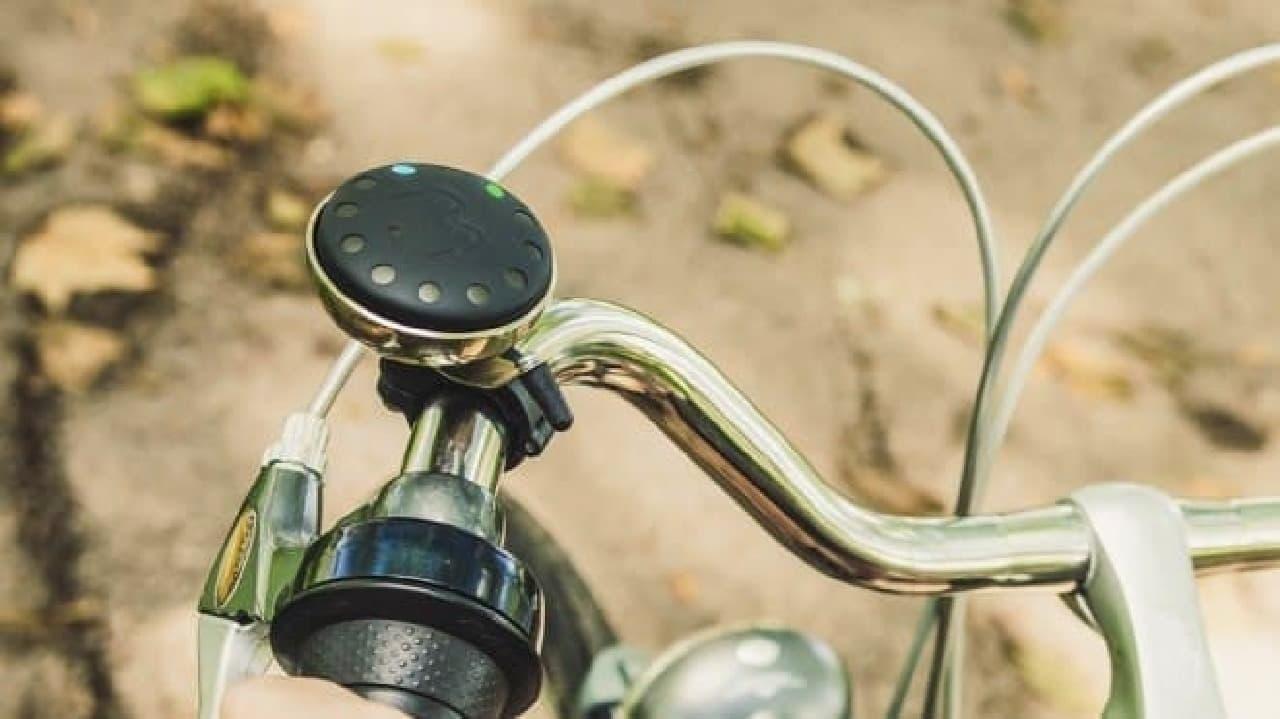 自転車用のサイクリングナビゲーター「Blubel」