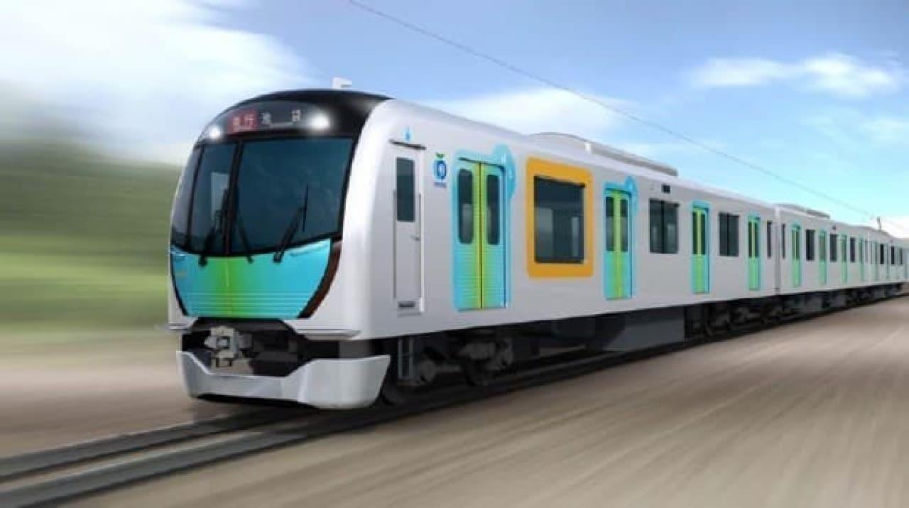 西武鉄道の新型車両「40000系」