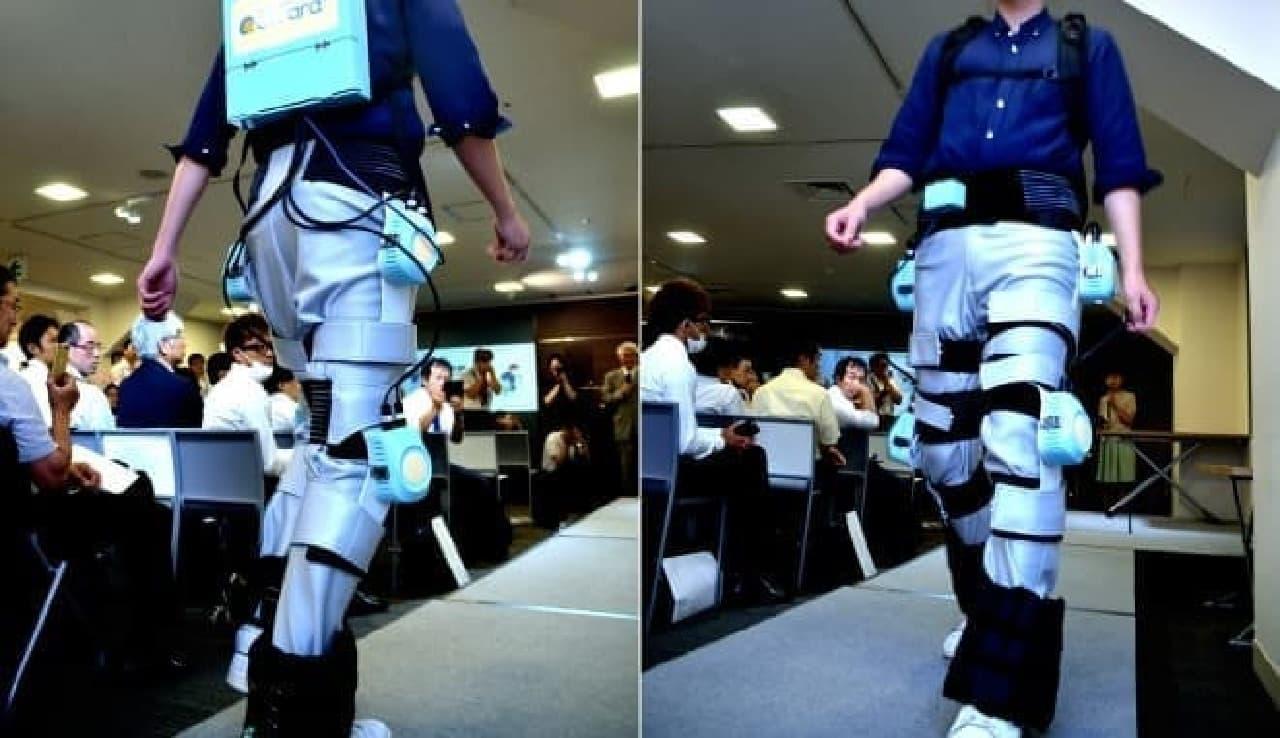 パンツ型ロボット「クララ」