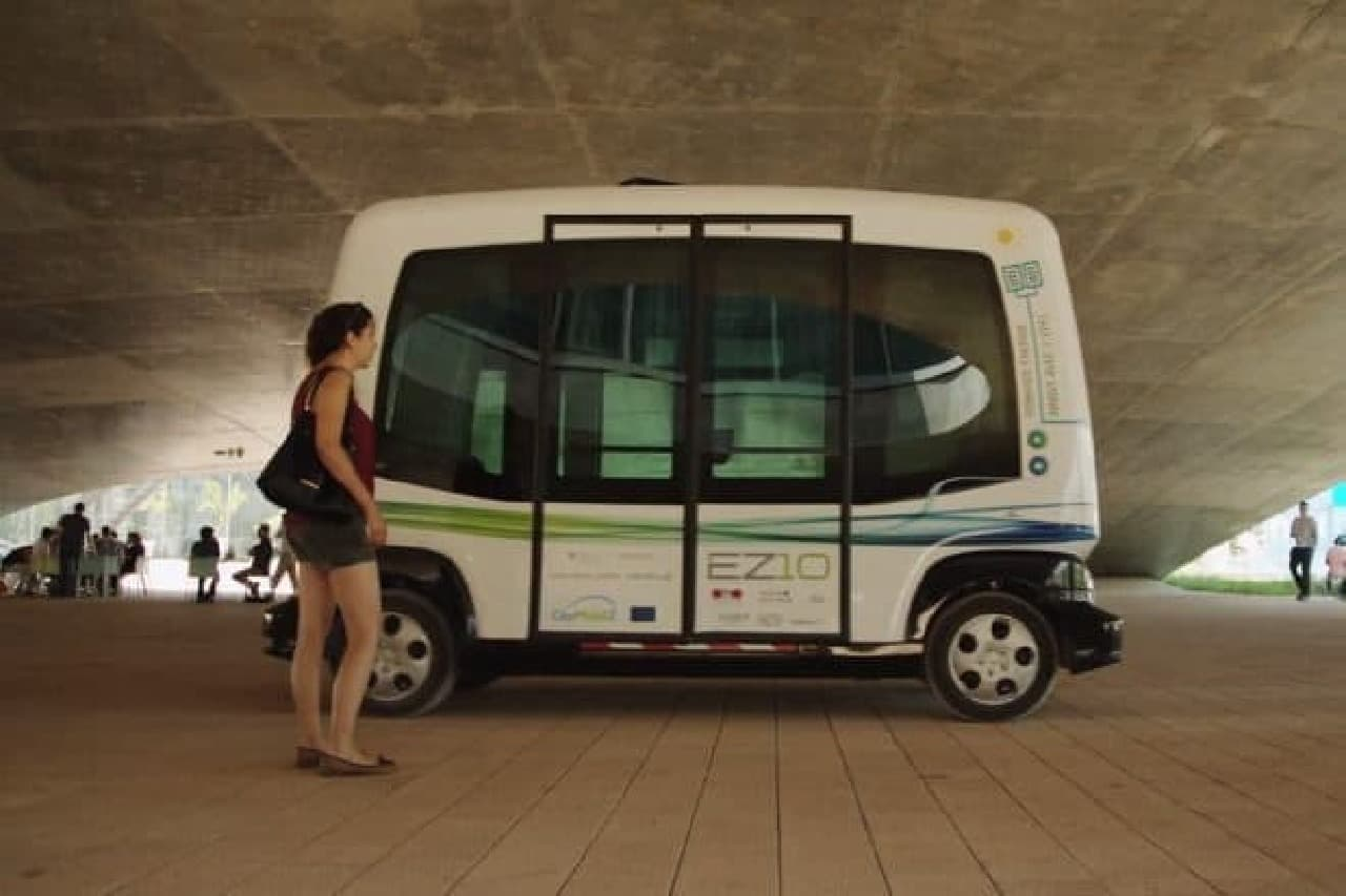 フランスのリジェが作った電気自動車「EZ10」