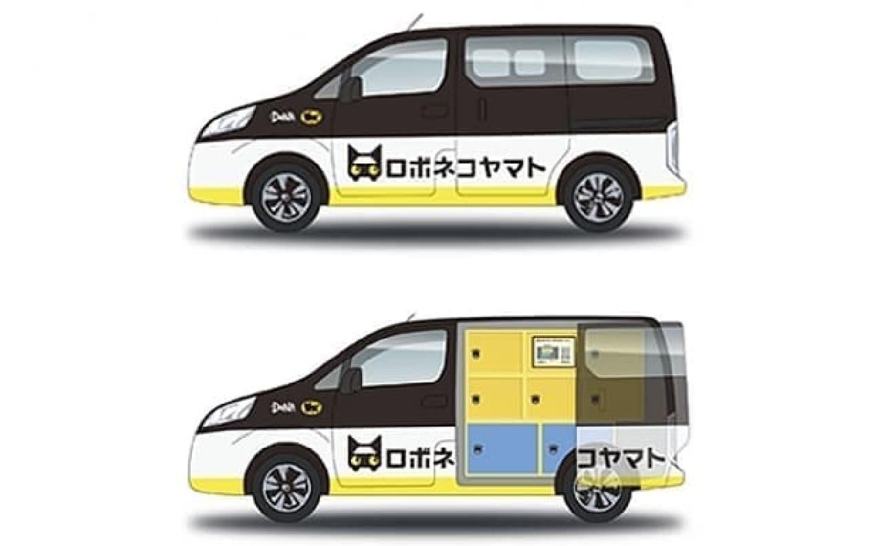 ロボネコヤマトの車両