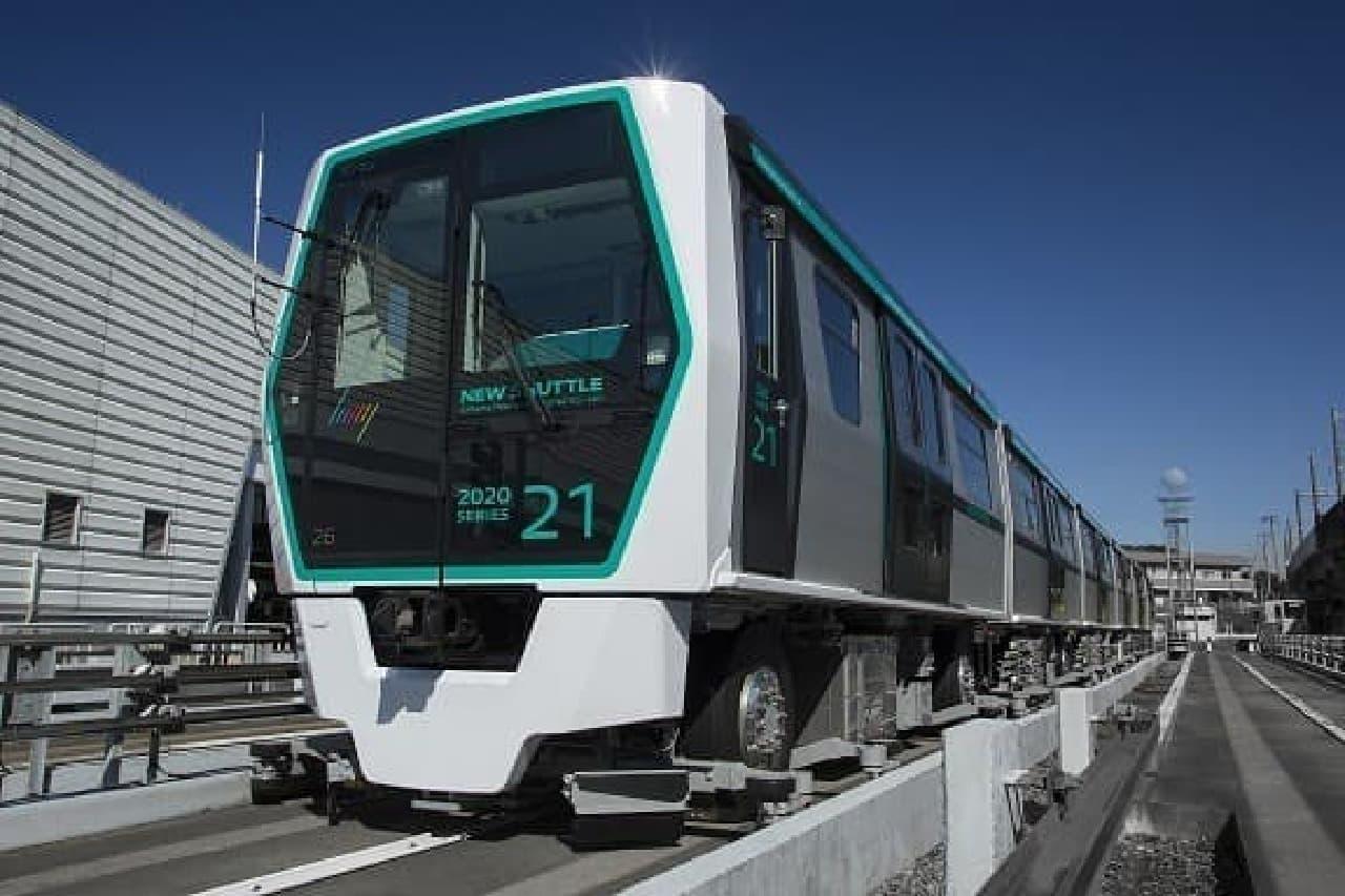 ニューシャトルの新型車両「2020系」