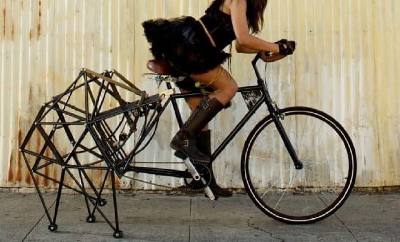 「Walking Bike」では常に3点接地