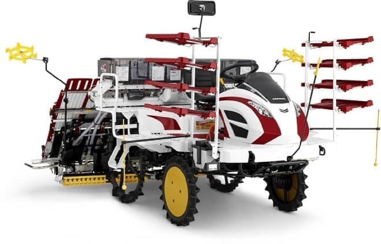 ヤンマーの農機YR-Dシリーズ