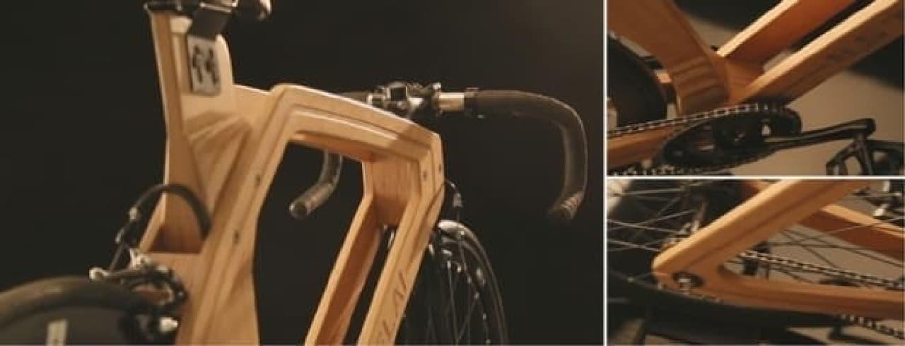 インテリアデザイナーのセンスが光る「8.5 TELAI」の木製フレーム
