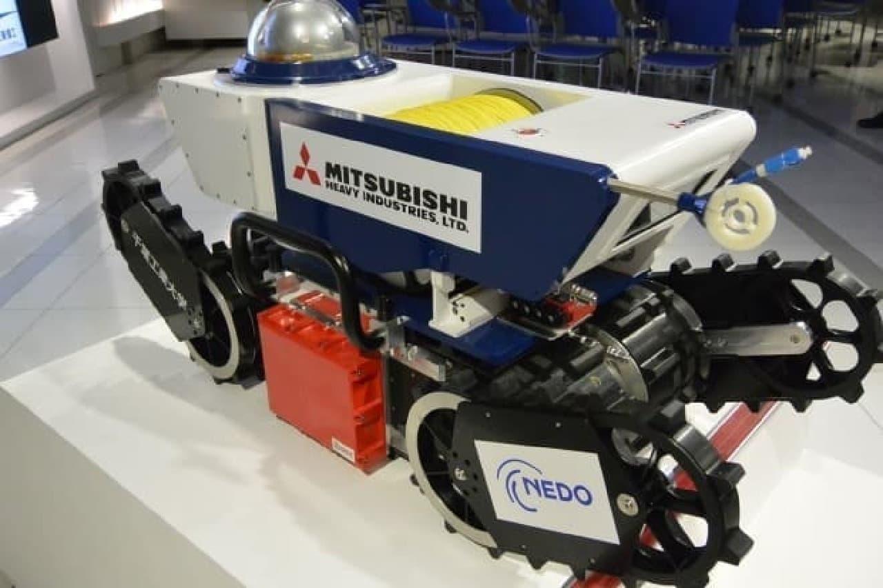 NEDOの防爆ロボット
