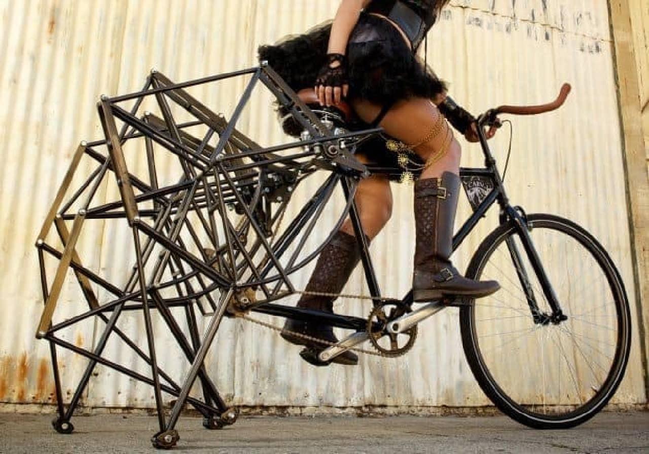 プロが撮影した「Walking Bike」画像
