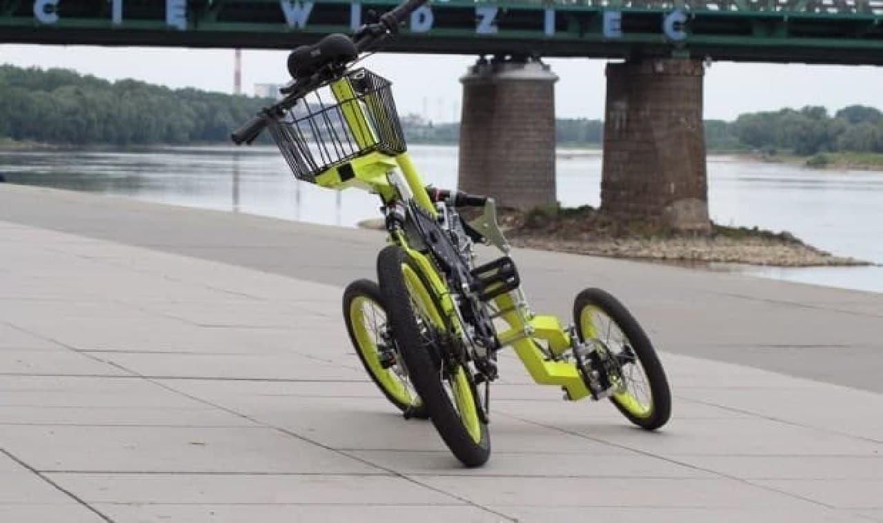 高い積載性を持つ「EV4 Bike」