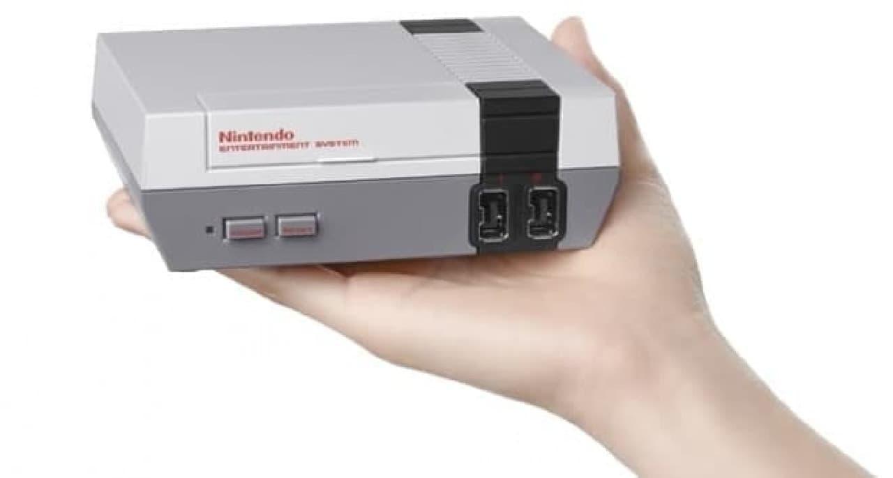 任天堂の「ファミリーコンピューター」の復刻版「Nintendo Classic Mini: Nintendo Entertainment System」