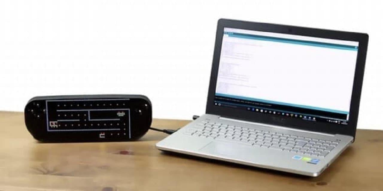 ソフトウェア開発では、統合開発環境「Arduino IDE」を採用