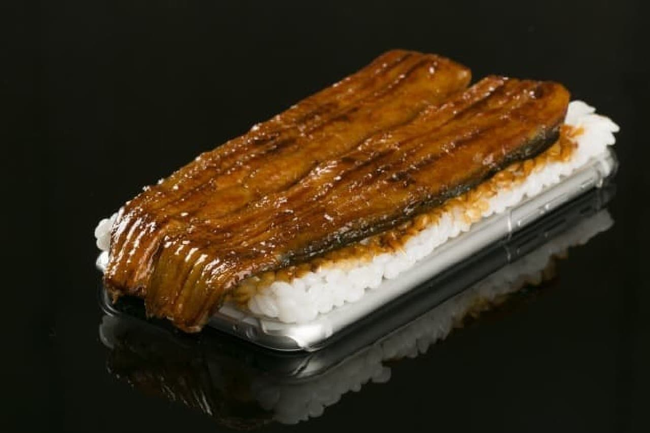 iPhone 6s/6専用 食品サンプルカバー(国産うなぎの蒲焼)