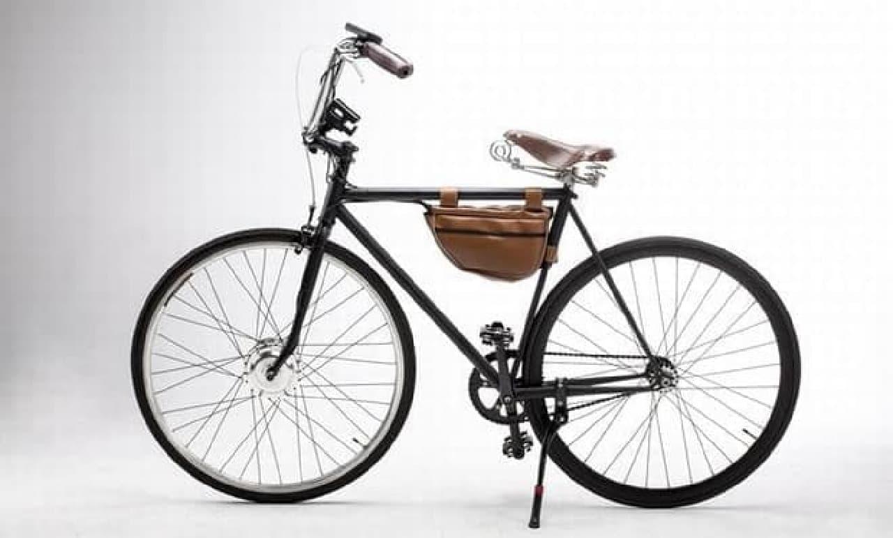 世界一安く、電動アシストに見えない自転車「iBike」