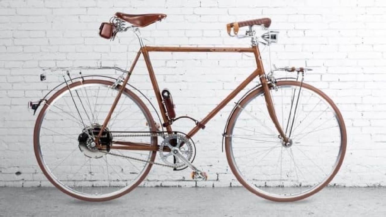 充電不要の電動アシスト自転車、VFの「La Specialita Ruggine」