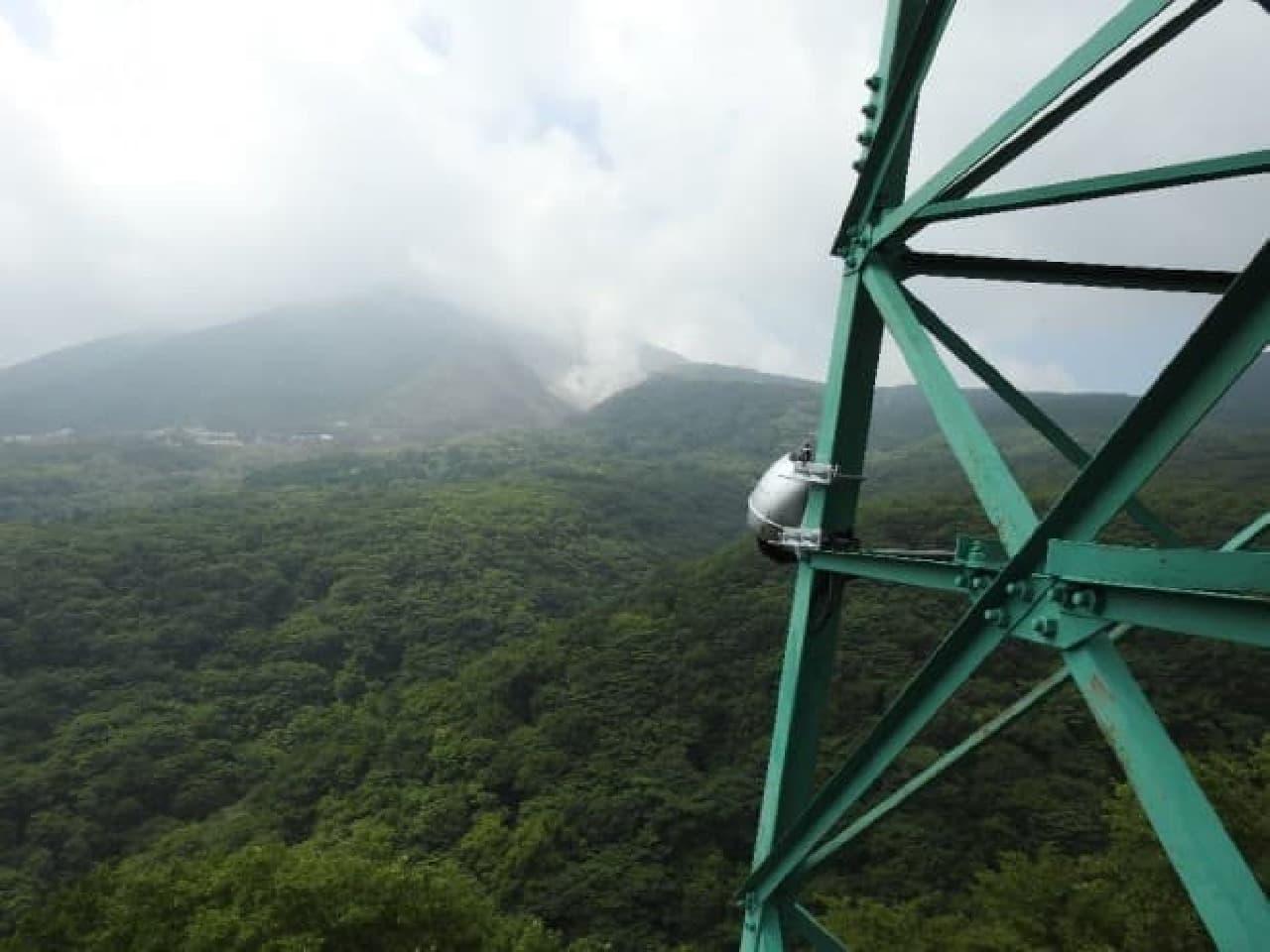 鉄塔付近からの風景